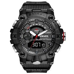 Relógio Militar SL-8040 Original Certificação 5ATM A Prova D'água Lançamento