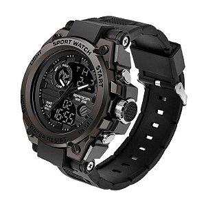 Relógio Militar Ultra Resistente Sanda WR 739 Original