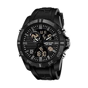 Relógio Esportivo Sanda Rubber 791 Original À Prova D'água