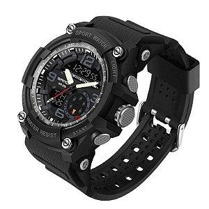 Relógio Fuzileiro Sanda Hatch 3036 Original à Prova D'água