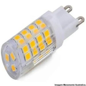 LAMPADA LED G9 03W. 6000K BIVOLT LCQ POWER