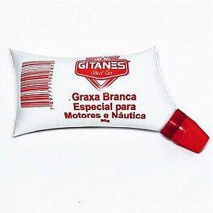 GRAXA CALCIO BRANCA P/MOTORES E NAUTICA 80G SACHE 1048 GITANES