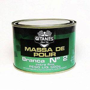 MASSA DE POLIR 500G NUMERO 2 1023 GITANES