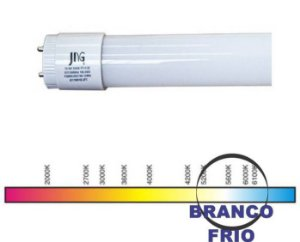LAMPADA TUBO LED T5  9W. 600MM 6000K JNG