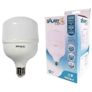 LAMPADA BULBO LED T160 50W 6000K BIVOLT E27 GALAXY