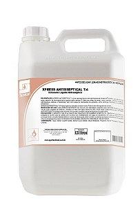 SABONETE LÍQUIDO 5L. ANTISSÉPTICO XPRESS ANTISSEPTICAL T-4 SPARTAN