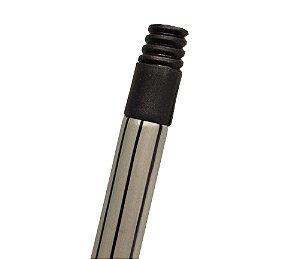 CABO MADEIRA PLASTIFICADO 1,2M LISTRAS ROSCA PLASTICA  DUPLAS