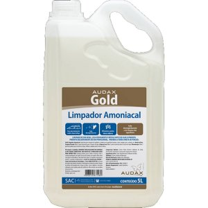 LIMPA LIXEIRAS AMONIACAL 5L. GOLD AUDAX