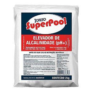 ELEVADOR DE ALCALINIDADE (PH+) 2KG. SUPER POOL AUDAX(123047)