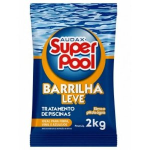 BARRILHA LEVE (ELEVADOR DE PH) 2KG. SUPER POOL AUDAX