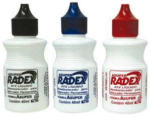 TINTA PARA MARCADOR PERMANENTE 40ML RADEX