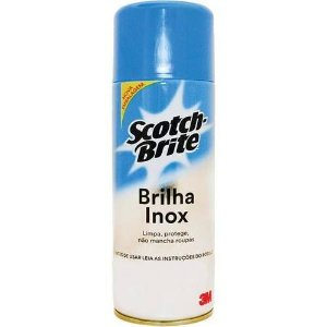 LIMPADOR BRILHA INOX 200ML SCOTCH BRITE 3M(45572)