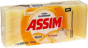 SABÃO EM BARRA 5X200GR. TRADICIONAL ASSIM
