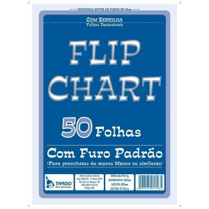 BLOCO FLIP CHART 64X88 50 UNID.ZOLAR PAPEIS