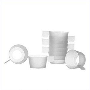 BASE PLASTICA BRANCA P/COPO CAFE C/ 20UNID. 25X58X43 JSN(A7_BCA)
