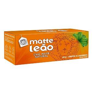 CHÁ MATTE TOSTADO 25 SACHES (40GR) LEÃO
