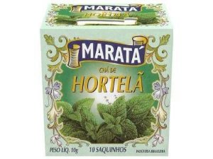 CHÁ HORTELÃ 10GR MARATA