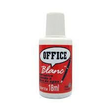 CORRETIVO LÍQUIDO 18ML. OFFICE BLANC RADEX