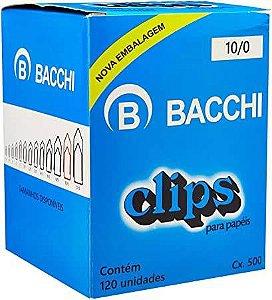 CLIPS GALVANIZADOS N.10/0 120 UNID. LINHA LEVE BACCHI