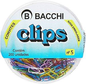 CLIPS N.5 (MINI) 200 UNID. P/CONVITES COLORIDOS BACCHI