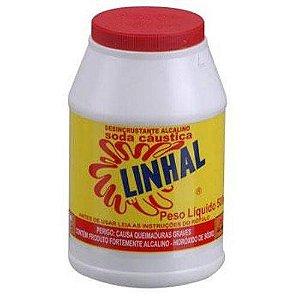 SODA CÁUSTICA ESCAMA 500GR. EM POTE LINHAL