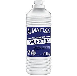 COLA BRANCA PVA EXTRA FORTE 1KG. ALMAFLEX