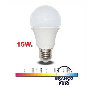 LED A60 15W 6000K BIVOLT E27 ENT
