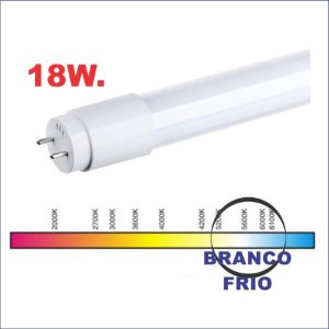 TUBO LED T8 18W. 1200MM 6000K LEITOSA ENT/POWER