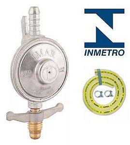 REGULADOR GAS IMAR C/MANGUEIRA 0,80CM 1KG
