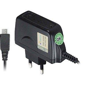 CARREGADOR PARA CELULAR 1.5A V8 MICRO USB BIVOLT XC-V8 X-CELL