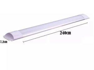 LUMINARIA LED LINEAR 72W BF 2400MM POWER/ENT