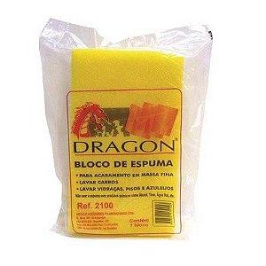 ESPUMA EM BLOCO 5,5X13X22 DRAGON