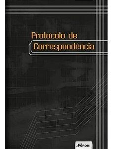 LIVRO DE PROTOCOLO 1/4 154MMX216MM 100 FOLHAS 1207 FORONI