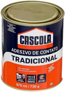 COLA DE CONTATO TRADIC. S/TOLUOL 730g CASCOLA