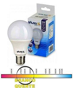 LED A60 09W 3000K BIVOLT E27 GALAXY