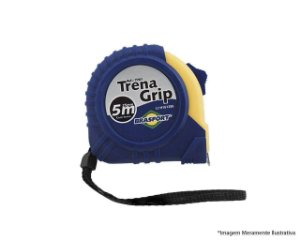 TRENA EMBORRACHADA GRIP 5M/25MM COM TRAVA 7761 BRASFORT
