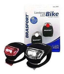 LANTERNA LED BIKE COM INCLINACAO COM 2 PECAS 7864 BRASFORT