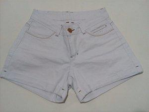 Shorts Jeans branco tam. 40