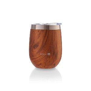 Copo Térmico Ivo Wood 360ml - KOUDA