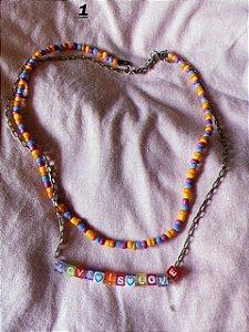 Colar Love is love