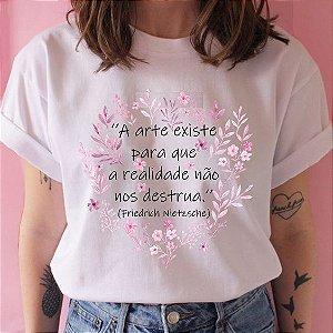Camiseta Arte Existe