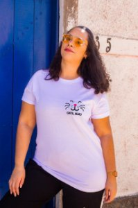 Camiseta Gata, Miau