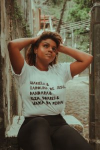 Camiseta Carolina de Jesus..