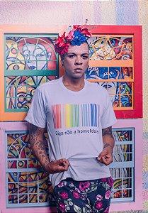 Camiseta Diga não a Homofobia