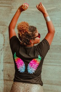 Camiseta Asas angel