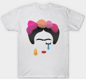 Camiseta Frida Lagrimas