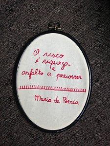 Bordado exclusivo Valeria Rezende - RISCO