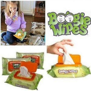 Boogie Wipes (Lenço de Nariz) - 30 unidades