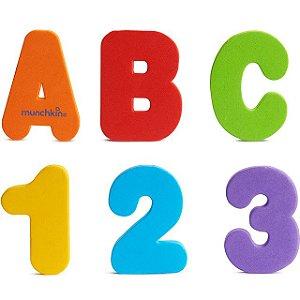 Letras/Números Banho Munchkin