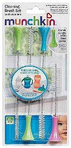 Escovinha para limpeza de bicos Munchkin - 4 unidades